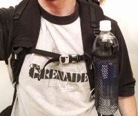 FS UL Shoulder Strap Water Bottle Holders, 20g Fleece