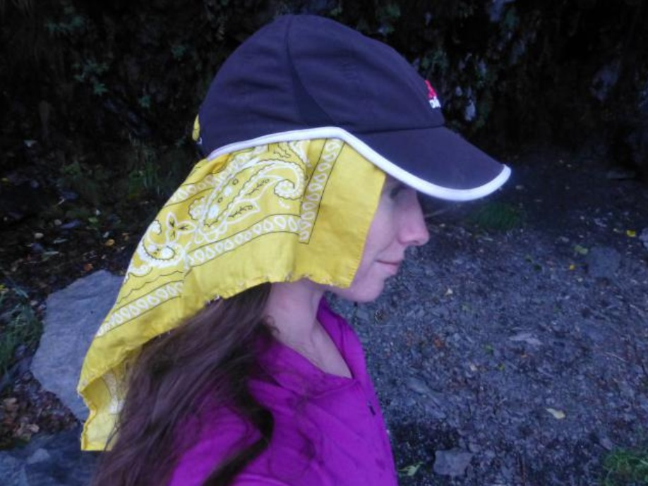 Sun cap/bandana/buff solution - Backpacking Light