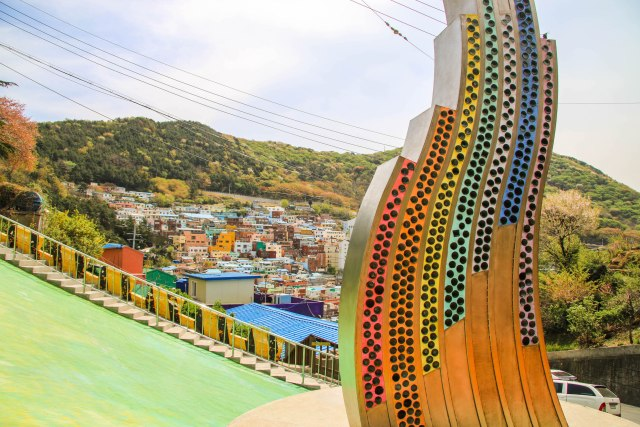 The Colours of Gamcheon Culture Village Busan
