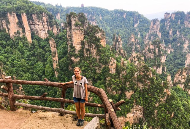 Finding the Best Viewpoints in Zhangjiajie National Forest Park, China