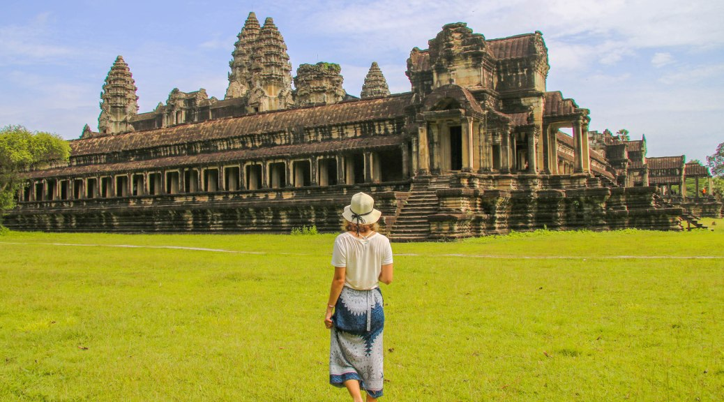 Avoiding Crowds at Angkor Wat