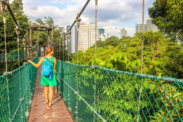 Free Things to Do in Kuala Lumpur: KL Forest Eco Park