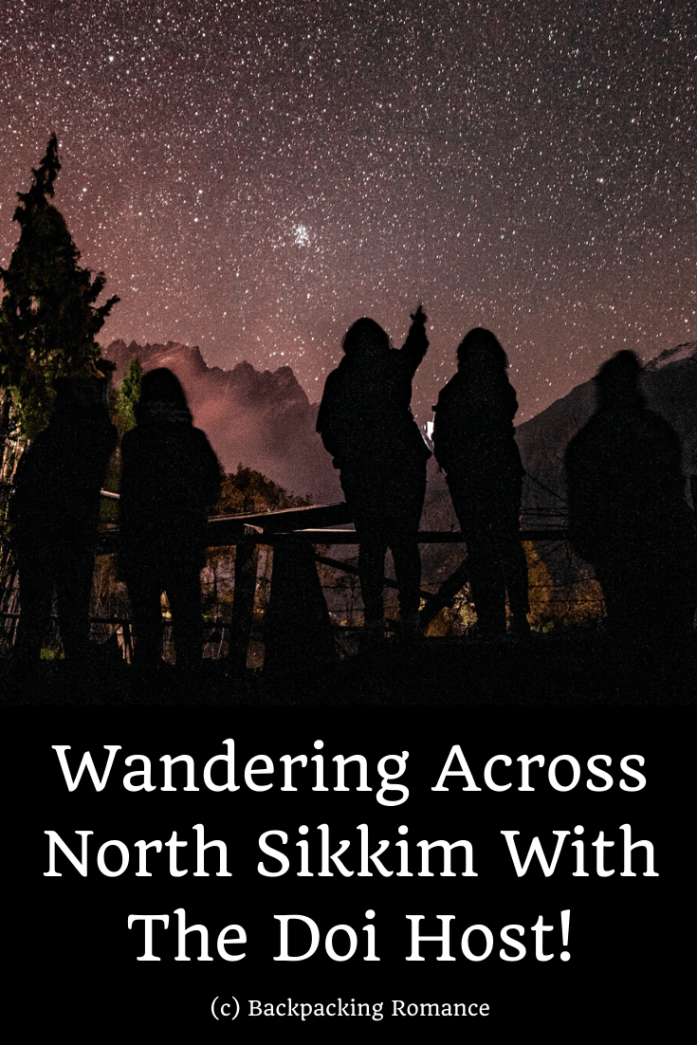 north sikkim with the doi host