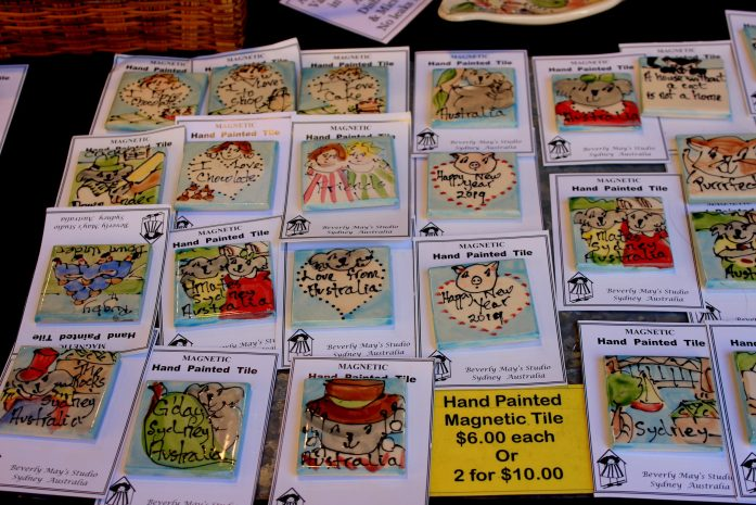postcards the rocks market sydney