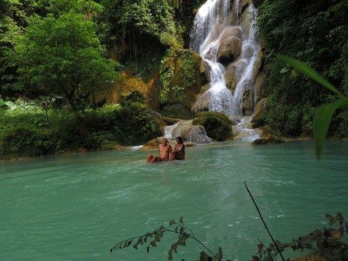 Kuang Xi Waterfall, Laos