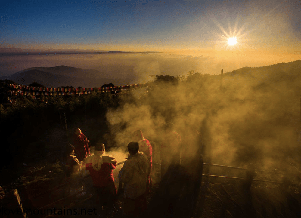 Tiger Hill, Darjeeling, India