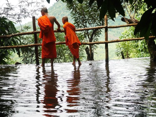 Novices in Laos