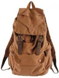 Vktech Vintage Men Women Casual Backpack
