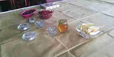 Rosh Hashana Table