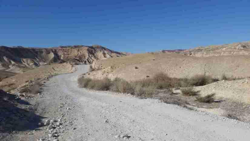 Green-Marked Trail to Nahal Darga