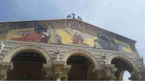 The Church of All NAtions - Church of Gethsemane on Mount of Olives