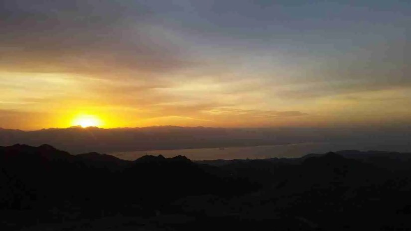 Sunrise from Yoash Mountain
