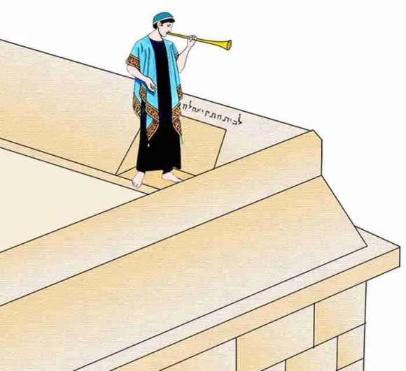 This is how it might have looked like in the Second Temple Days - Illustration by Tamar HaYardeni