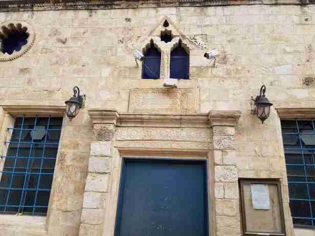 The entrance to the ARI Ashkenazi Synagogue