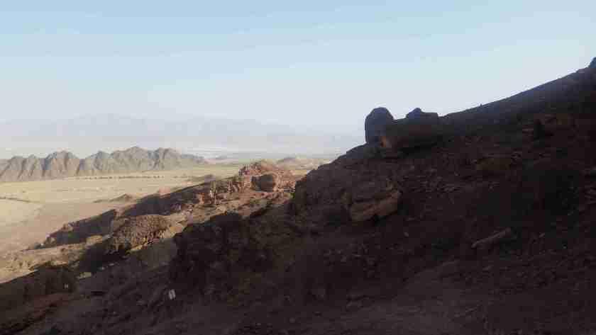 Near the Schoret Canyon