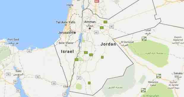 Israel on Google Maps