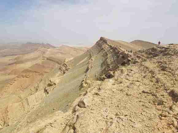 Hiking Mount Carbolet in Israel
