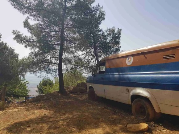 The Israel National Trail truck