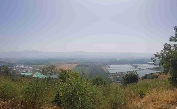 The lookout from Israel National Trail