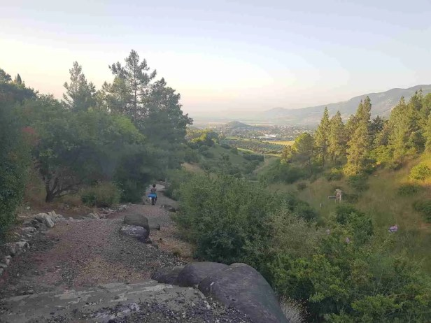 The Trail of the Wounded from Kfar Giladi to Tel Hai