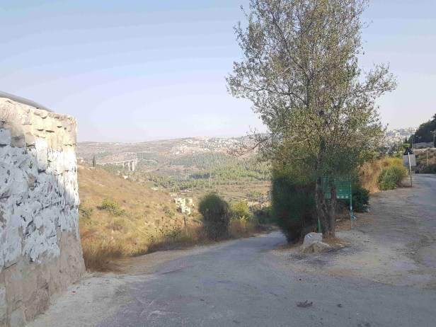 Trail to Lifta, near Jerusalem