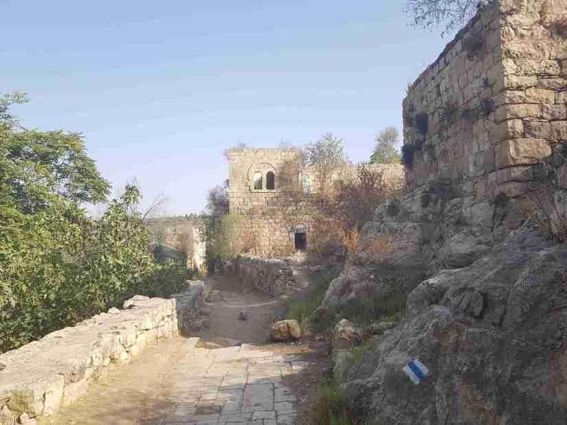 The abandoned village of Lifta