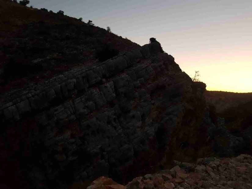 The Dishon Wadi on the Israel National Trail