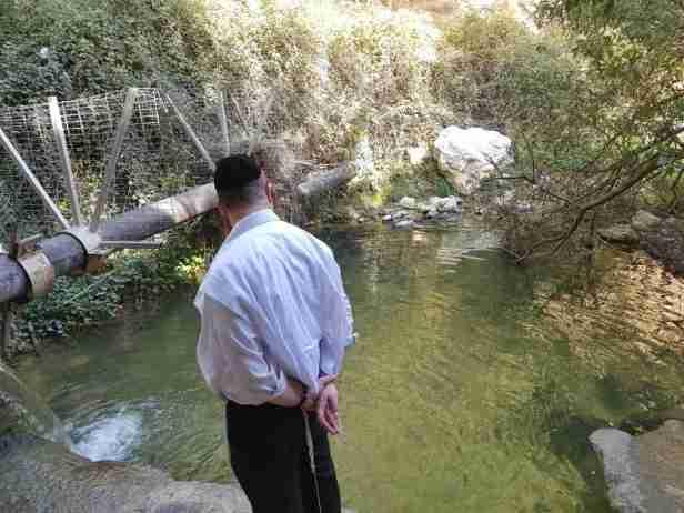 Ein Aravot on the Israel National Trail