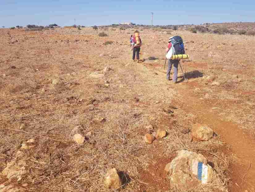 The Israel National Trail hike