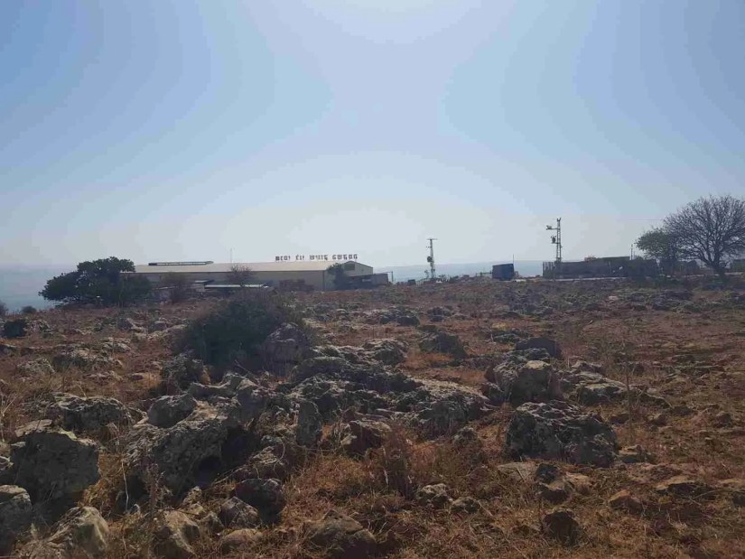 Packing factory on the Israel National Trail