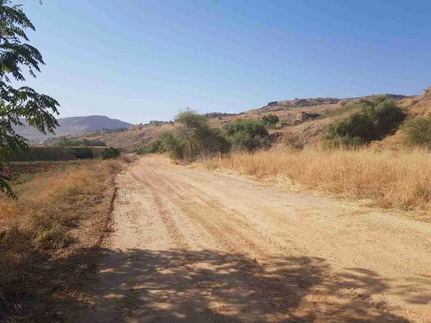 On the way to Ein Nun on the Israel National Trail