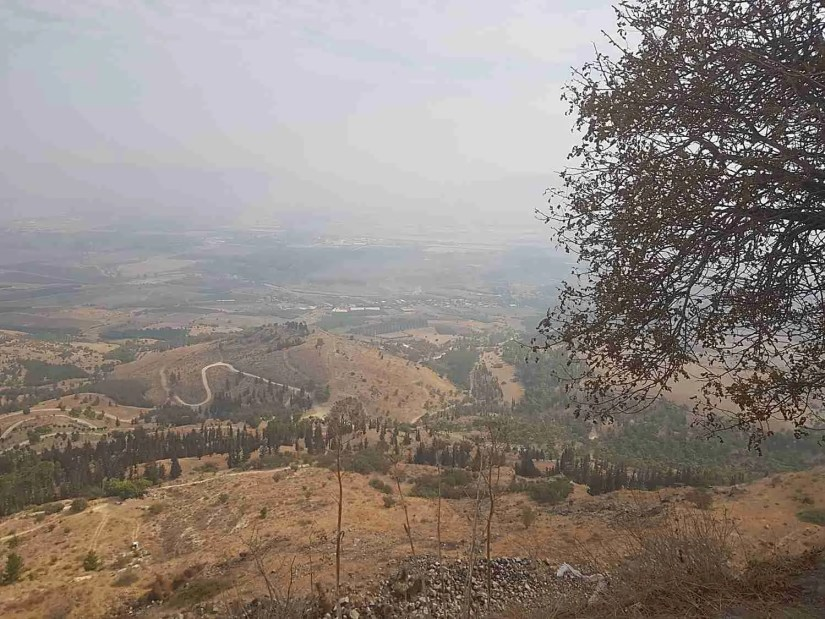 The view from the Israel National Trail