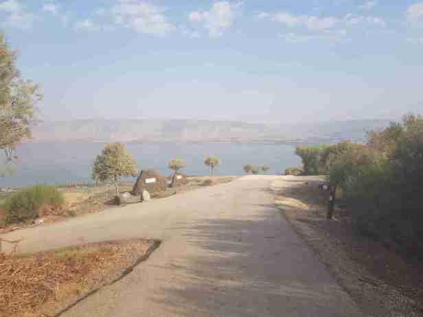 Two stones near Ein Poriya
