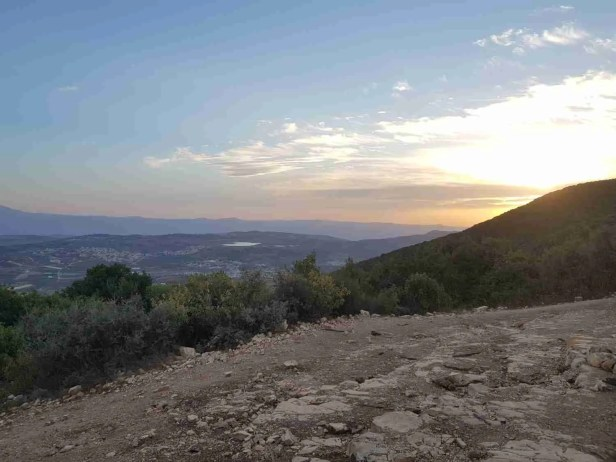 Mount Neriah Observation Point on the Israel National Trail