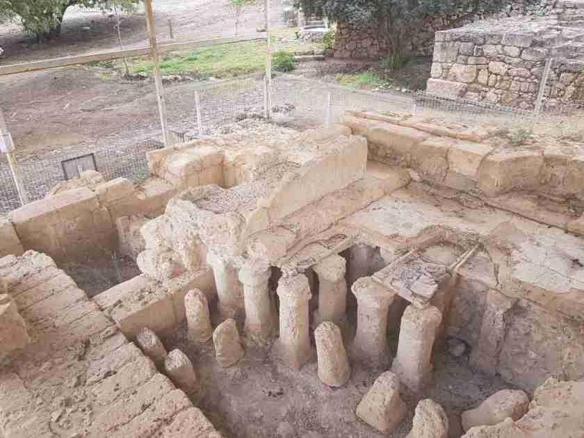 Ein Zur Bathing House in Ramat Hanadiv