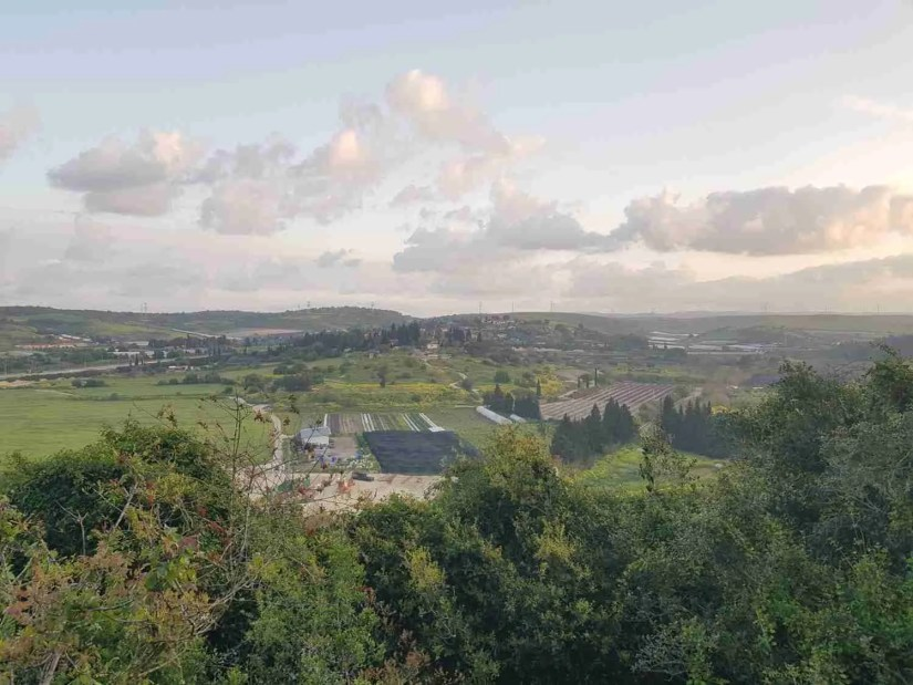 View of Bat Shlomo from Mount Horshan