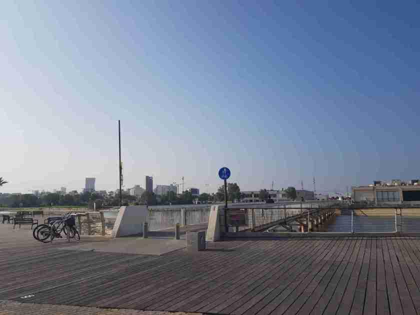 The Wauchope Bridge to Tel Aviv Port on the Israel National Trail