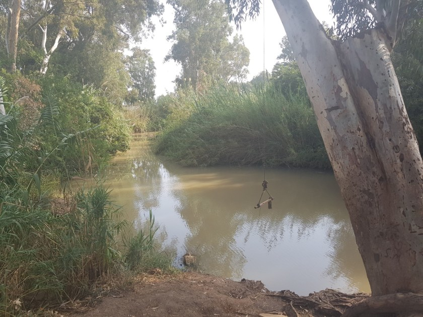 The Yarkon River on the Israel National Trail