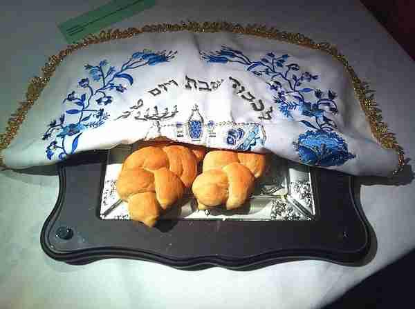 Challah bread on Shabbat in Jerusalem