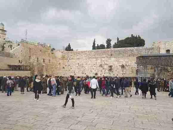 Western Wall in Old City Jerusalem