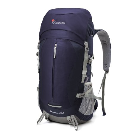 Mountaintop 50L Hiking Backpack Internal Frame Backpack