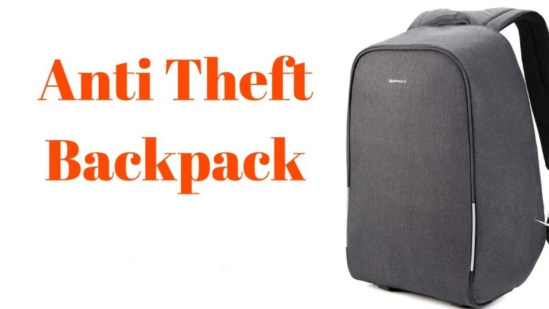 9 Best Anti-Theft Backpack