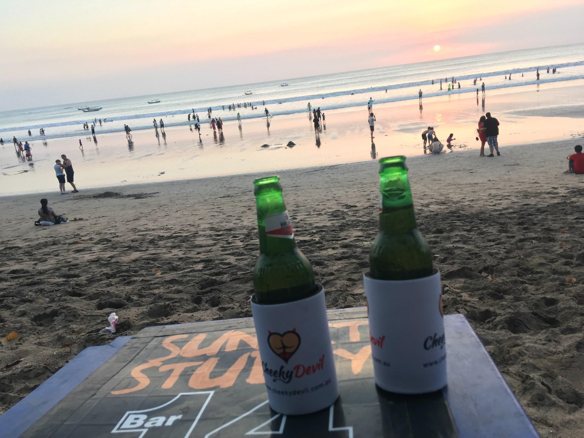 Beer in Bali