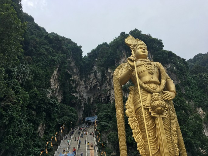 Batu Caves Backpacking in Malaysia