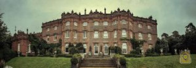 Avoid Vacation Trouble: Hughenden Manor, the home of former British Prime Minister Benjamin Disraeli. High Wycombe, United Kingdom.