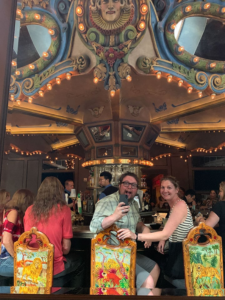 Guide to New Orleans: Carousel Bar