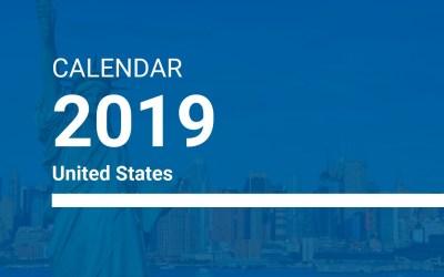 2019 Recognized Holidays