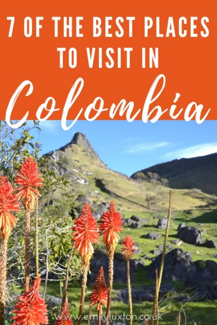 where to go in Colombia