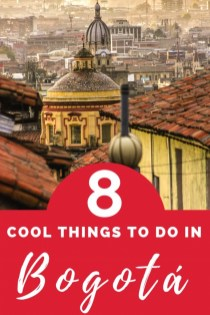 cool things to do in bogota
