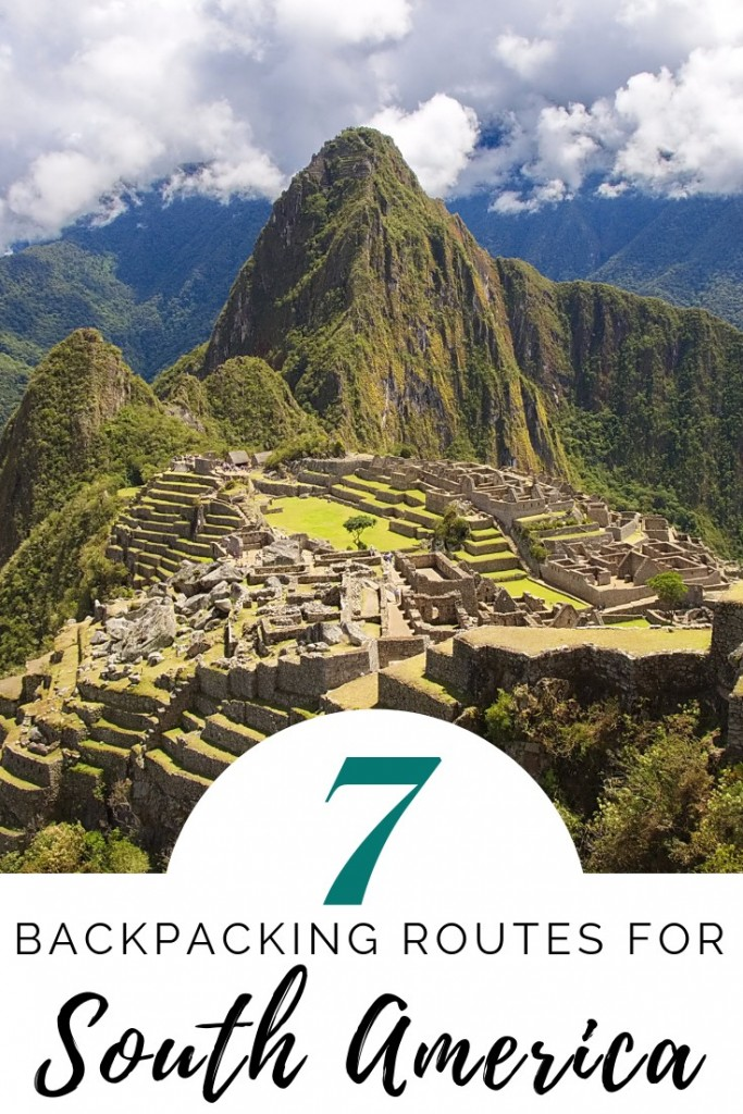 South America Backpacking Routes